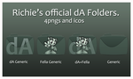 Richie's official dA Folders by Hemingway81