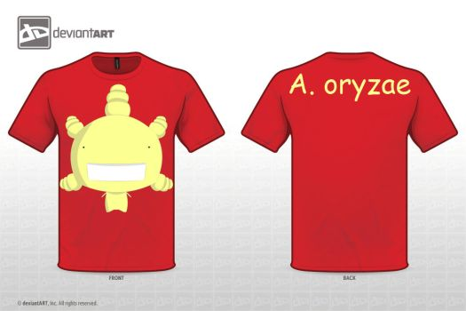 T-Shirt Design - A. oryzae by Toher999