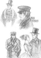 Arkady, Rodion, Polina and Alexei by Rabemar