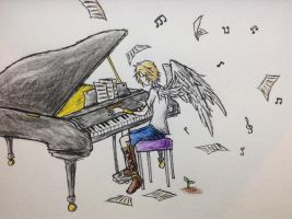 Piano by PunkishLen