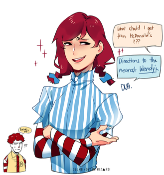 Wendy's lit bro by Ozumii