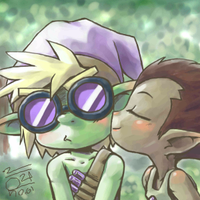 How could the goblin blush by aun61