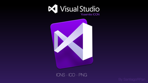 Visual Studio Code Yosemite ICON by SantiagoRPan