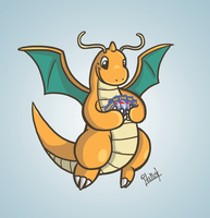 Dragonite PokeCards by Italiux