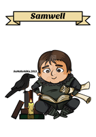 S is for Samwell by SaMtRoNiKa