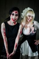 Zombie Halloween Collaborations! by VioletLeBeaux