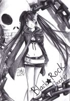 Black Rock Shooter by Syndicth