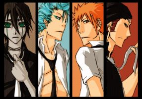 bleach - comicparty12 bookmark by pandabaka