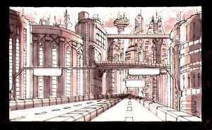 future environment sketch A by DjMerlyn