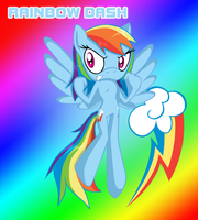 MLPFIM SS Rainbow Dash by HeroineMarielys