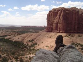 View from Arches by ladyofthemandalore