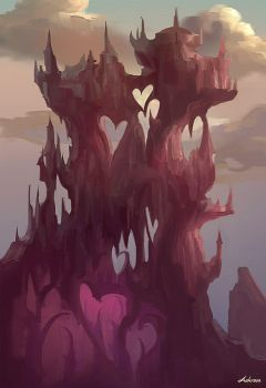 Quick Concept-A Palace of Hearts by Ashramart