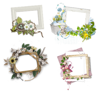 RESOURCES FRAMES #1 by Molncie