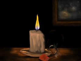 By candle light by teddybearcholla