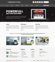 Barcelona WP Theme - Webdesign Showcase Example by ait-themes