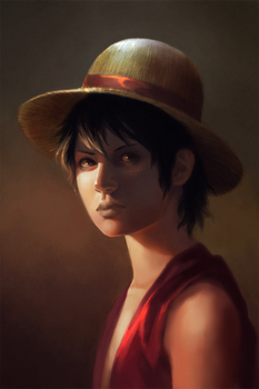 Monkey D. Luffy by Lagunaya