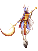 League Of Legends - Soraka by lizardwow