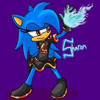 Request: Sharon the Hedgehog by xXCystalTheWolfXx