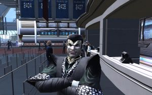 Scary Romulan by Majestic-MSFC