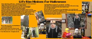 Lifesize Minions For Halloween by Rene-L