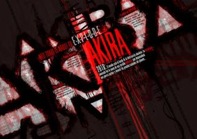 Akira - Typography Compo 2 by Carpet-Crawler