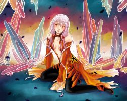 Guilty Crown: Inori by arisupaints