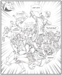 Comic TEAM GROUPS by Maryneim