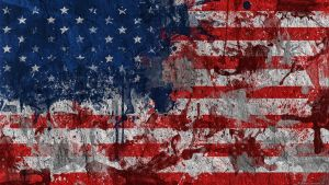American Flag Wallpaper by GaryckArntzen