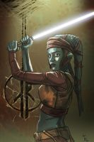 Aayla jedi by digitalinkrod