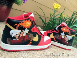 Fire Flame Hi's by meberra