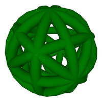 Opaque Green Bauble by Maginomicon