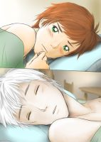 Stare [Jack/Hiccup] - COLORED by Kiki-Asuka