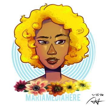 Lady Sunflower by MariaMediaHere