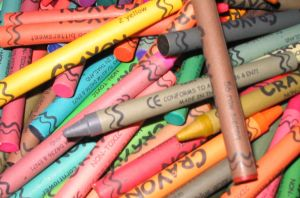Colorful Crayons by AiPFilmMaker