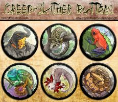 Creep + Slither Buttons by neondragon