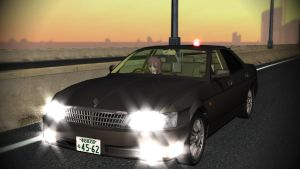 Nissan Laurel GC35 Kouki Unmarked Car MMD DL by cargraP