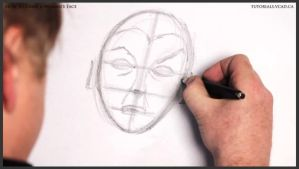 How to Draw a Woman's Face 010 by drawingcourse
