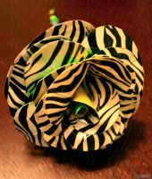 multi colored duct tape rose 1 by lyssalove