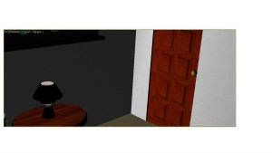 Door and Table by mjb1225