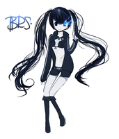 Black Rock Shooter by LupaChan
