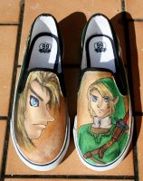 Zelda shoes 1 by LovelyAngie