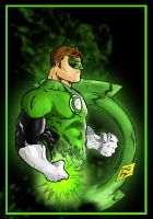 Green Lantern by Jey2K