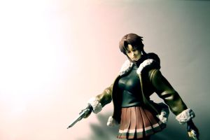 Revy in Tokio by NormanVauxhall