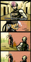 GSW Comic 01 - MGS4 by PersonaSama