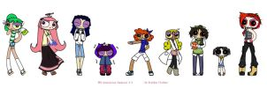 PPG Generation Chemical X 2 Casual Wear Colored by YouAskMeFirst2