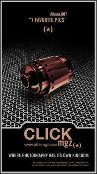 CLICKmgz.007 Poster by minimalminds
