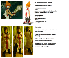 Cosplay commission - Tristepin/Wakfu Finished by Grethe--B