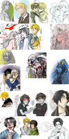 iscribble dump 15 by Peach-Muffinz