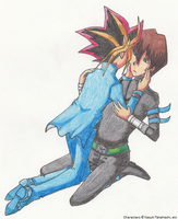 Yami x Seto for Tachishini by SamCyberCat