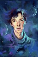 Space Ben by ladunya